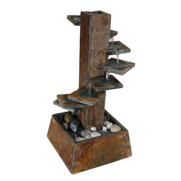 tischbrunnen spirale 52 pumpe
